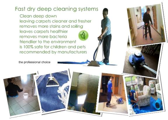 the family carpet cleaning company in Derbyshire